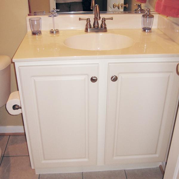 Refurbished Bathroom Cabinets